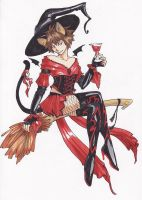 Lilim in witch by Orphen-Sirius