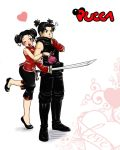 pucca and Garu by camlost