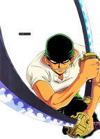 Zoro Render - One Piece by misscelles