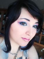 My make-up today :) by rainbowvincent