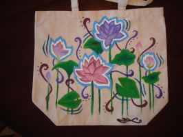 Lotus Flowers by naomiscribbles