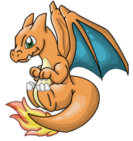 Cute charizard by Terranariko