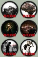 The Evil Within icons by kodiak-caine