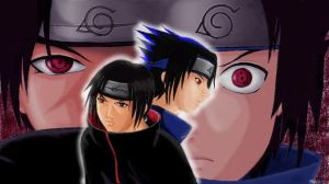 Itachi and Sasuke by himiko