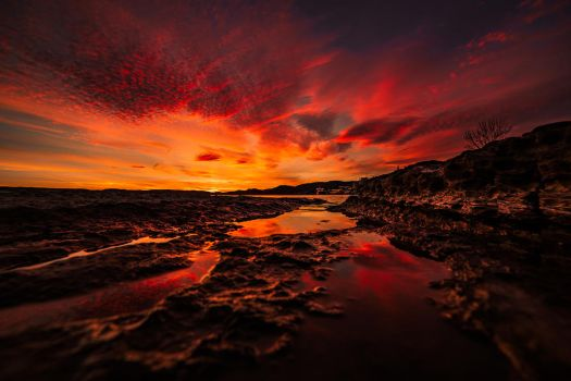 The same sunset by AleckJo