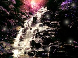 Enchanted Waterfall by PrinceLink