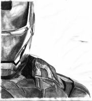 Iron Man Close up by mor4674j