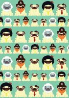 Pug pattern by alsnow