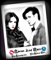 Matt Smith And Karen Gillian by DocsCompanion