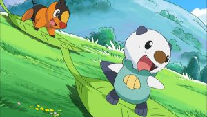 Tepig and Oshawott by pikatheking025