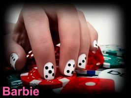 Dice Nails by BarbieNailArt