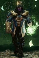 Thanos - Kris Anka design Biram Ba colors by SpiderGuile