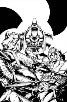 Bumblebee 2 - Variant Cover by GuidoGuidi