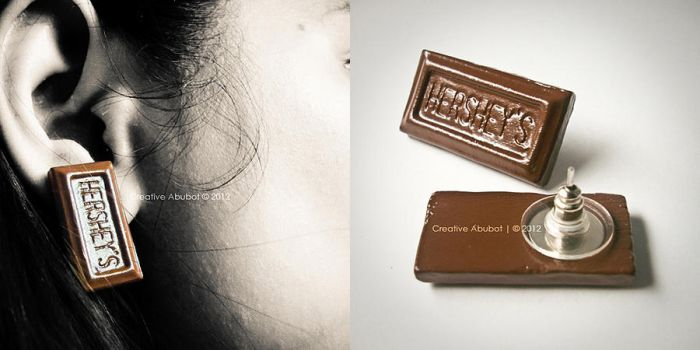 Hershey's Earring by CreativeAbubot
