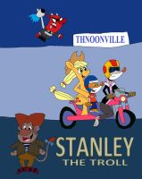 Stanley The Troll Poster by HunterxColleen