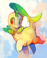 bayleef by extyrannomon