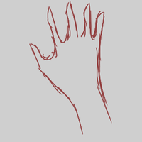 Hand animation practice by sunsethyena