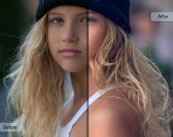 Chasing Light Workflow by Sleeklens - Blonde Girl by Sleeklens