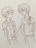 Degree Romeo - Alfred + Arthur by Ruite
