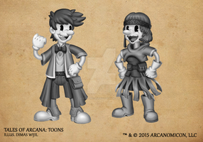 Tales of Arcana 1st Set - Toons by TalesofArcanaRPG