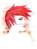 Red hair by leamatte