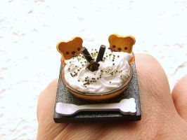 Bears And Chocolate Ring by souzoucreations