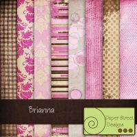 brianna-paper street designs by paperstreetdesigns