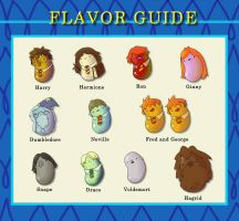 Bertie Bott's Every Flavor Beans by Che-Crawford