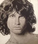Jim Morrison by karlalii