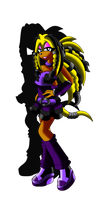 Karli the Echidna NEW by BreezyMania