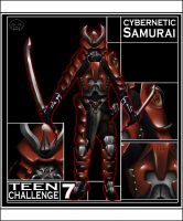 -TC7: Cybernetic Samurai- by PhantomBlaze
