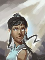 Korra Quickie by andaerz