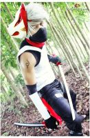 anbu kakashi by greatestsensei