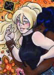ACEO YCH Iskra and Jade by nickyflamingo