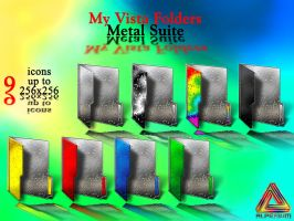 My Vista Folders.Metal icons by klen70