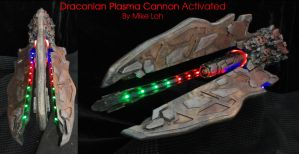 Draconian Plasma Cannon Activated by Uratz-Studios