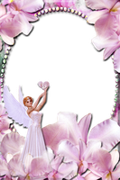 Lav's PNG Frames98 with Angel of OutlawbyDesign by Lavandalu