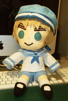 Sealand Plushie by coriyu