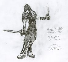 Sragan: Dark Rogue by Draxen