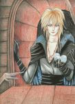 Jareth from Labyrinth by spiderlady