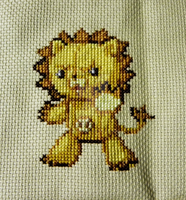 Kon Counted Cross Stitch by SariousSleuth