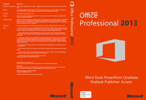 Office 2013 Cover 2 (Unofficial) by joostiphone
