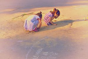 Searching in the Sand by DarkJade21