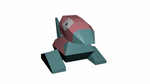 Turntable Porygon lowpoly Test by JoeStrings