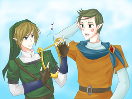 Linkor's Music Time by Brain-Artist