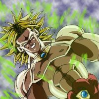 Broly Le Guerrier Legendaire! by Lobox2