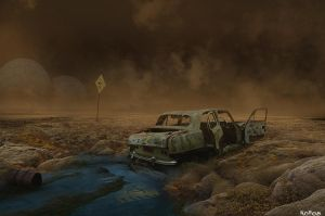Toxic Land by noro8