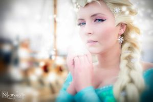 Elsa The Snow Queen by valeravalerevna