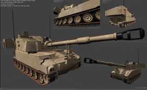 M109A6 Paladin by RetroMike