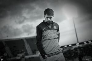 Lionel Messi by CanTuran